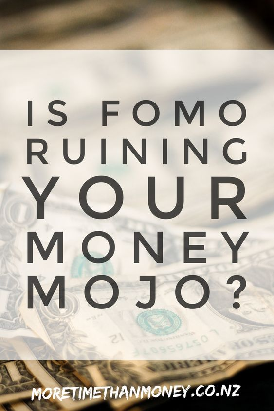 Is FOMO ruining your money MOJO? Minimalism Personal Finance
