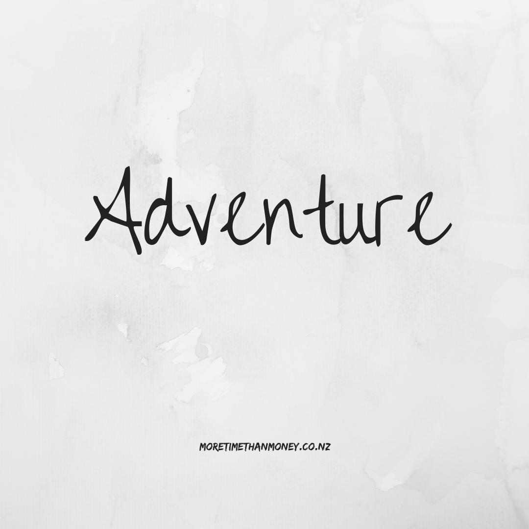 Adventure - my guiding word for 2020